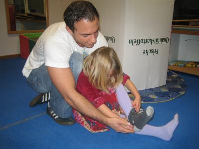 Frühkindliche Reflexe und Fragebogen